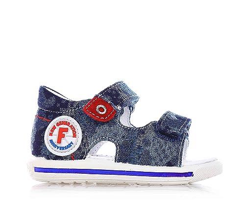 Falcotto Naturino - Sandalo Blu in Jeans 0f7c74db7ea
