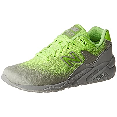 New Balance Men 580 Re-Engineered Textile MRT580JE (Green/Lime/Grey) | Fashion Sneakers