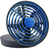 O2COOL 5-Inch Portable USB Fan, Blue