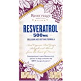 Reserveage - Resveratrol 500mg, Cellular Age-Defying Formula, 30 capsule