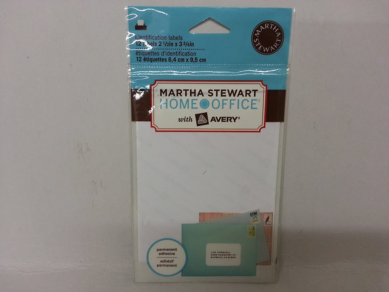 Martha Stewart Home Office with Avery Identification Labels 72437 ...