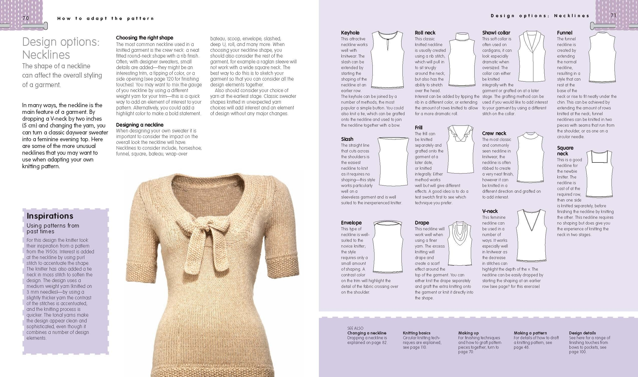 How to Use, Adapt, and Design Knitting Patterns: How to knit exactly ...