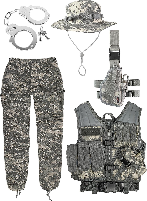 Disfraz de uniforme militar de marine de Estados Unidos compuesto ...