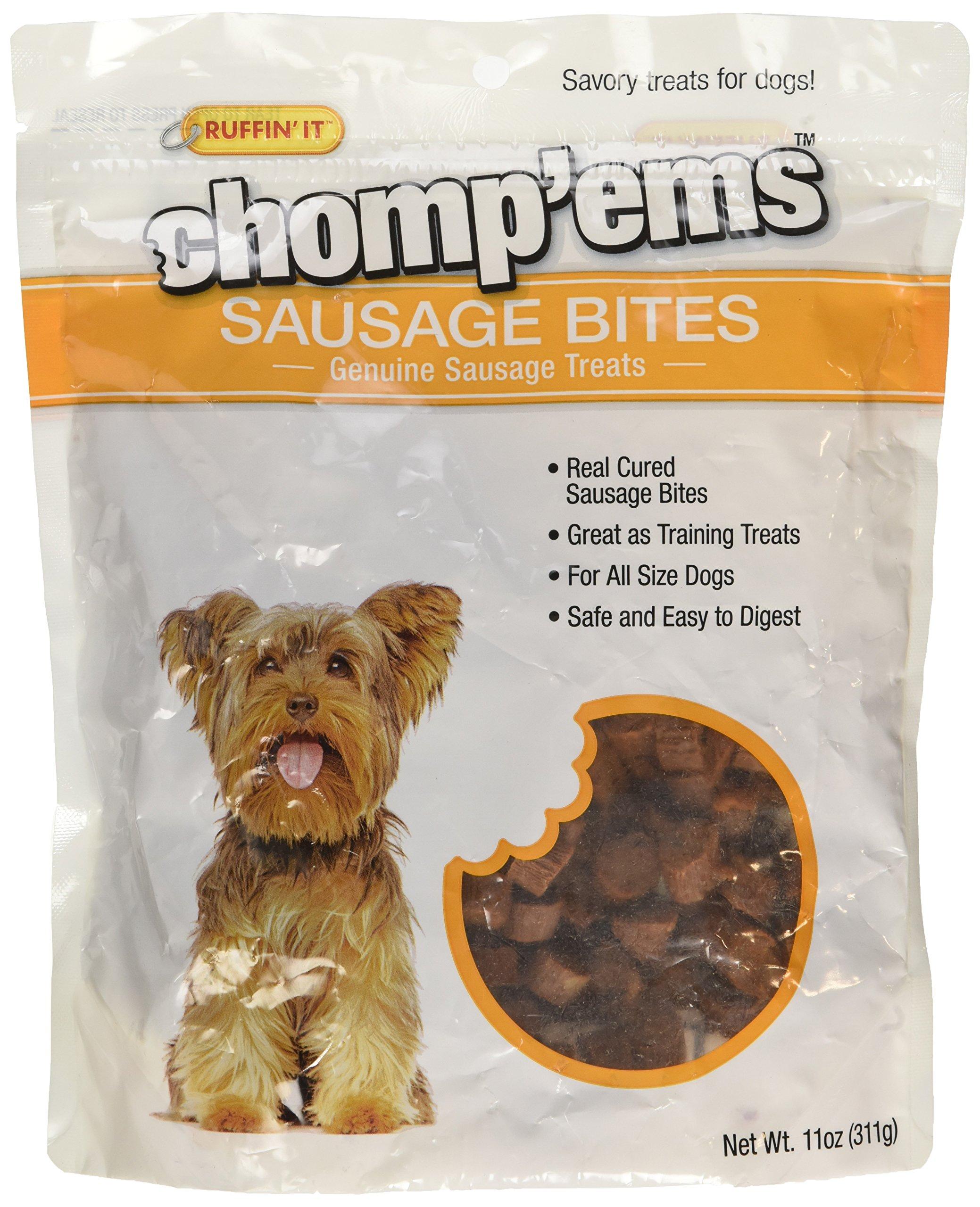Westminster Pet Products Chomp'ems Sausage Bites, 11 oz