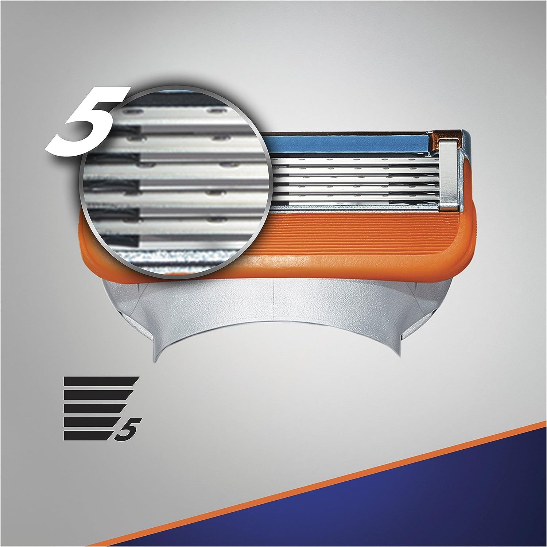 Gillette Fusion - Maquinilla de Afeitar, 8 Recambios: Amazon.es ...