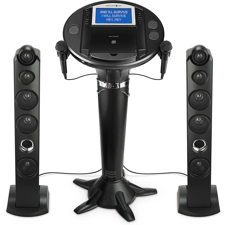 Singing Machine iSM1050BT Bluetooth Karaoke Pedestal