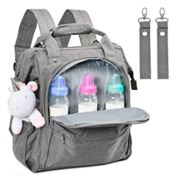 Baby Bag Changing Bag GENESS/® Baby Bag for Mum Changing Bag Backpack Waterproof Larger Capacity Baby Diaper Bag Nappy Back Pack Changing Rucksack Organiser Bag for Mom and Dad Unisex 35L