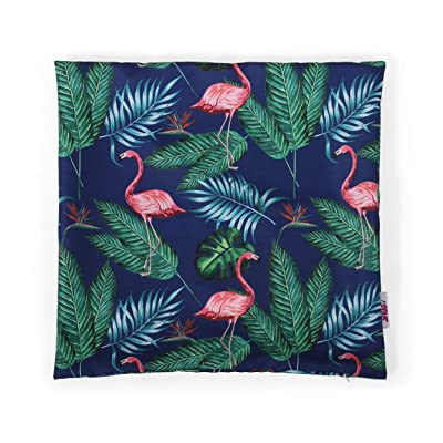 Christopher Knight Home 311805 Beverly Outdoor Pillow Cover, Navy Blue, Multicolor : Garden & Outdoor