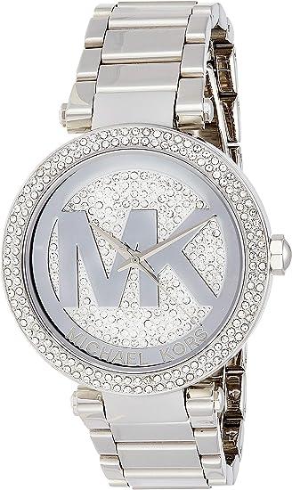 Michael Kors Women's Parker Silver Tone Watch MK5925