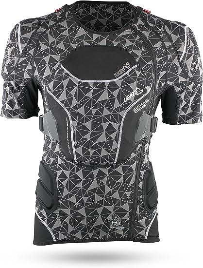 Leatt Kurzarm Protektionshemd Body Tee 3df Airfit Lite Schwarz Gr Xxl Bekleidung