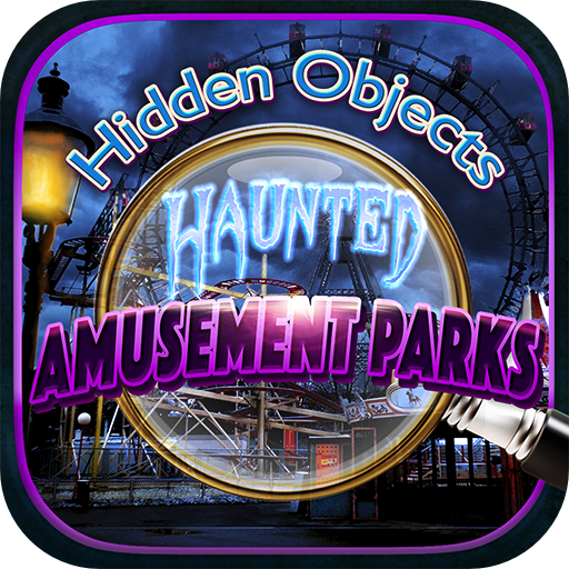 Hidden Objects – Haunted Amusement & Theme Parks and Object Time Puzzle Photo Free Game -