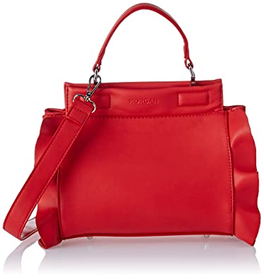 4159a626d0e Morgan femme 181-2savol.a Sac porte main Rouge (Rouge)  Amazon.fr ...