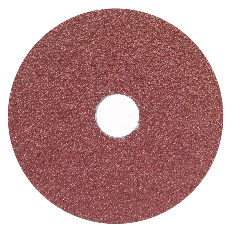 Arbor Mt Sanding Disc, 5x7/8, 80G, PK25