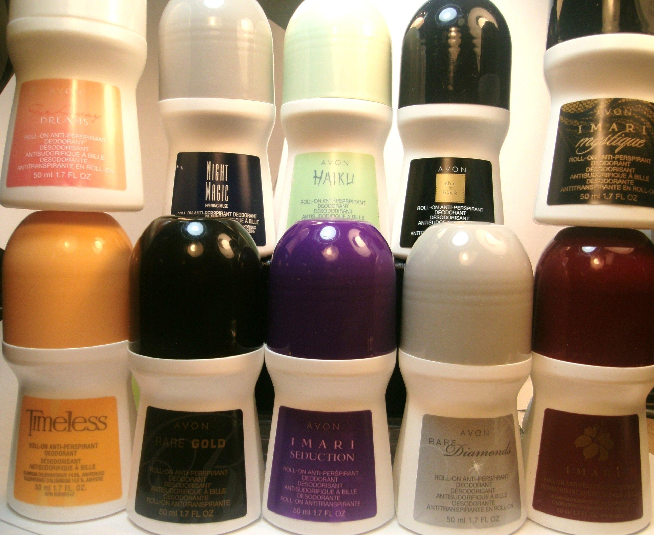 Amazon Com Avon Assorted Unisex Deodorants Set Of 10