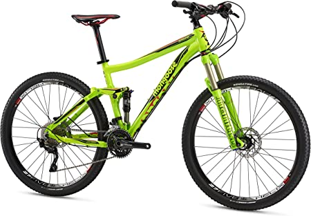 side facing mongoose salvo expert full suspension mountian bike
