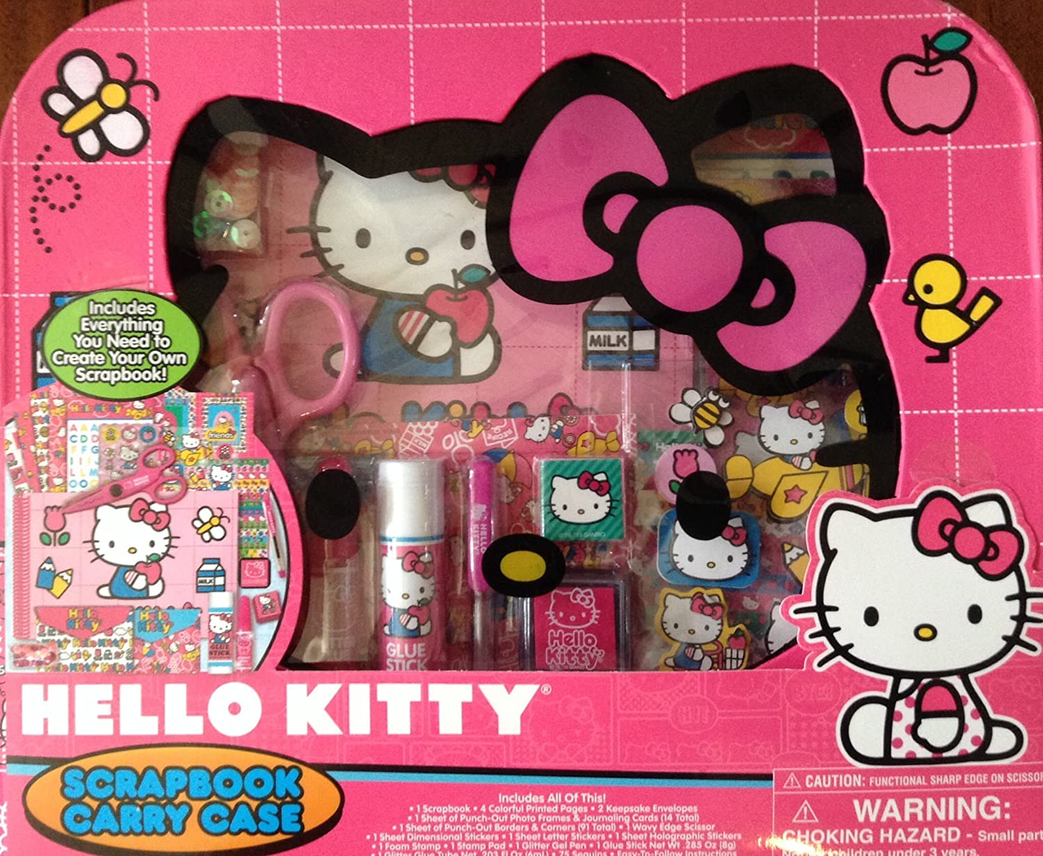 3ca209d34 Hello Kitty Scrapbook Carry Case and Supplies: Amazon.ca: Home & Kitchen