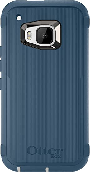 new arrivals cddc7 bf359 OtterBox Defender Case for HTC One M9 - Retail Packaging - Causal Blue
