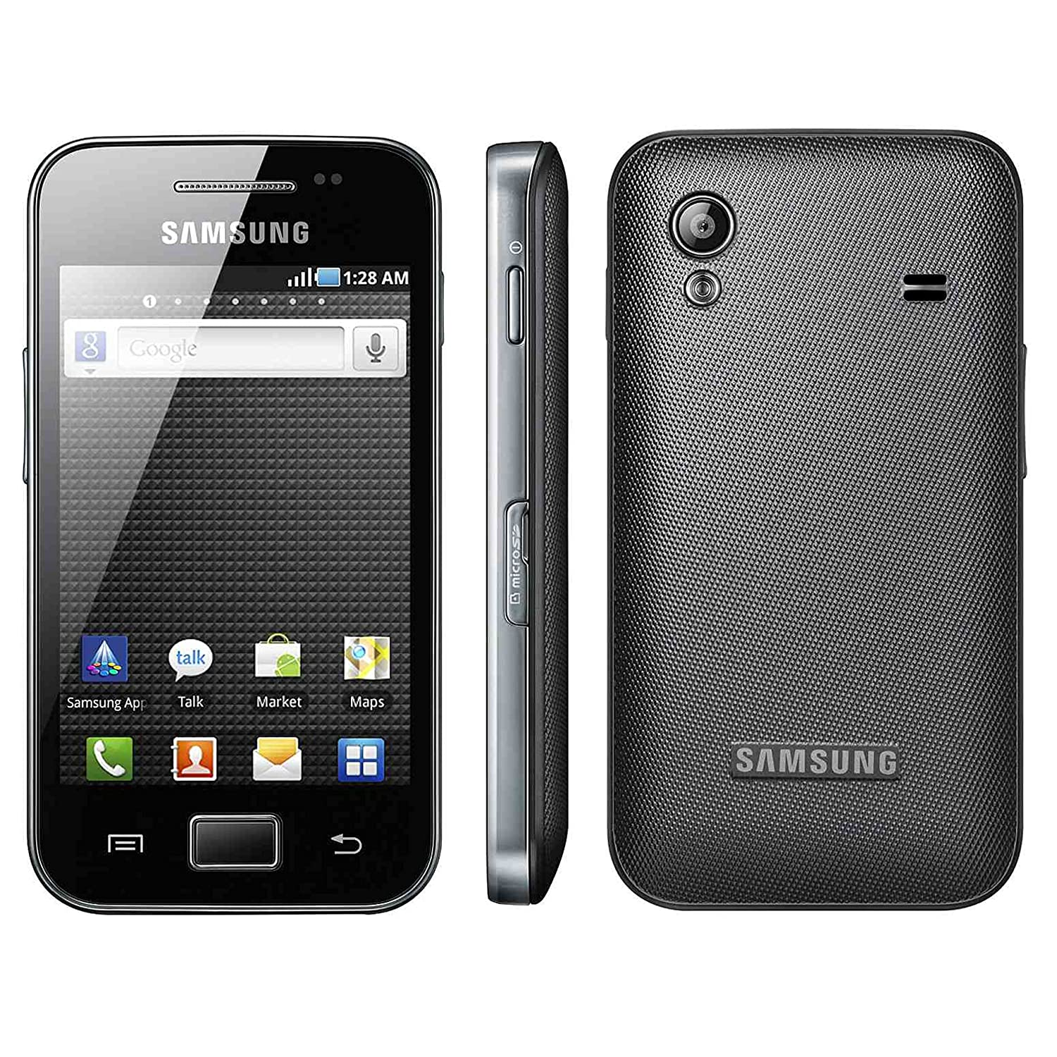 Samsung S5830 Galaxy Ace - Unlocked Phone - Black