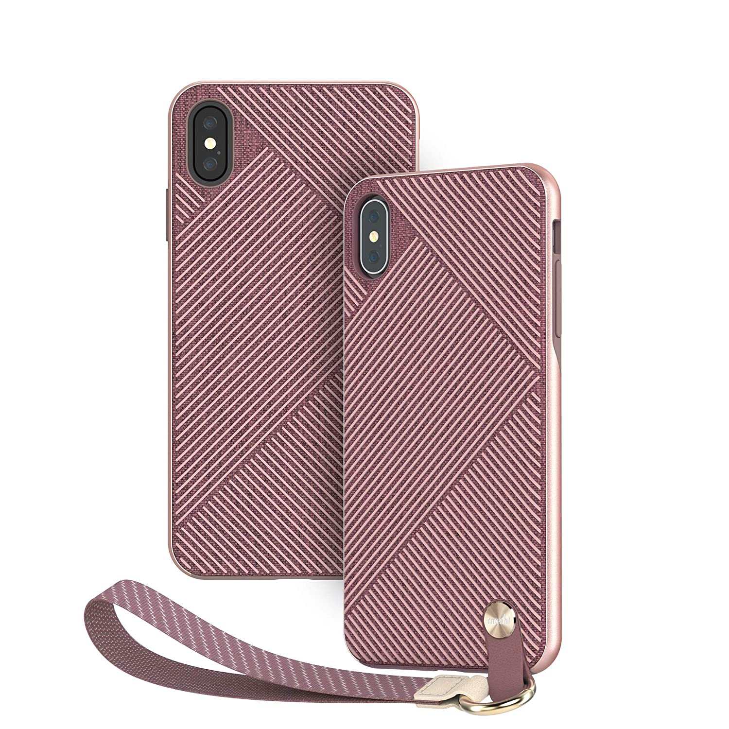 sale retailer dccc2 819ca Moshi Altra Slim Hardshell Case with Strap for iPhone Xs Max - Pink