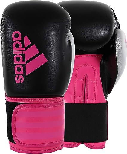Adidas Hybrid 100 - Guantes de boxeo para mujer