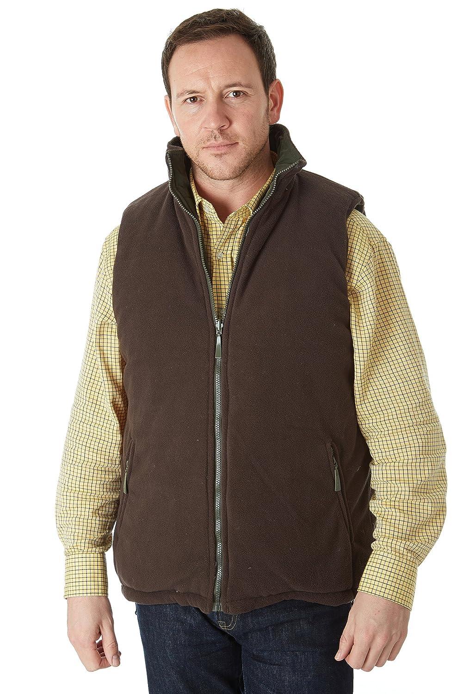 Chaleco de Caza para Hombre Sherwood Forest Tatton Fleece Gilet
