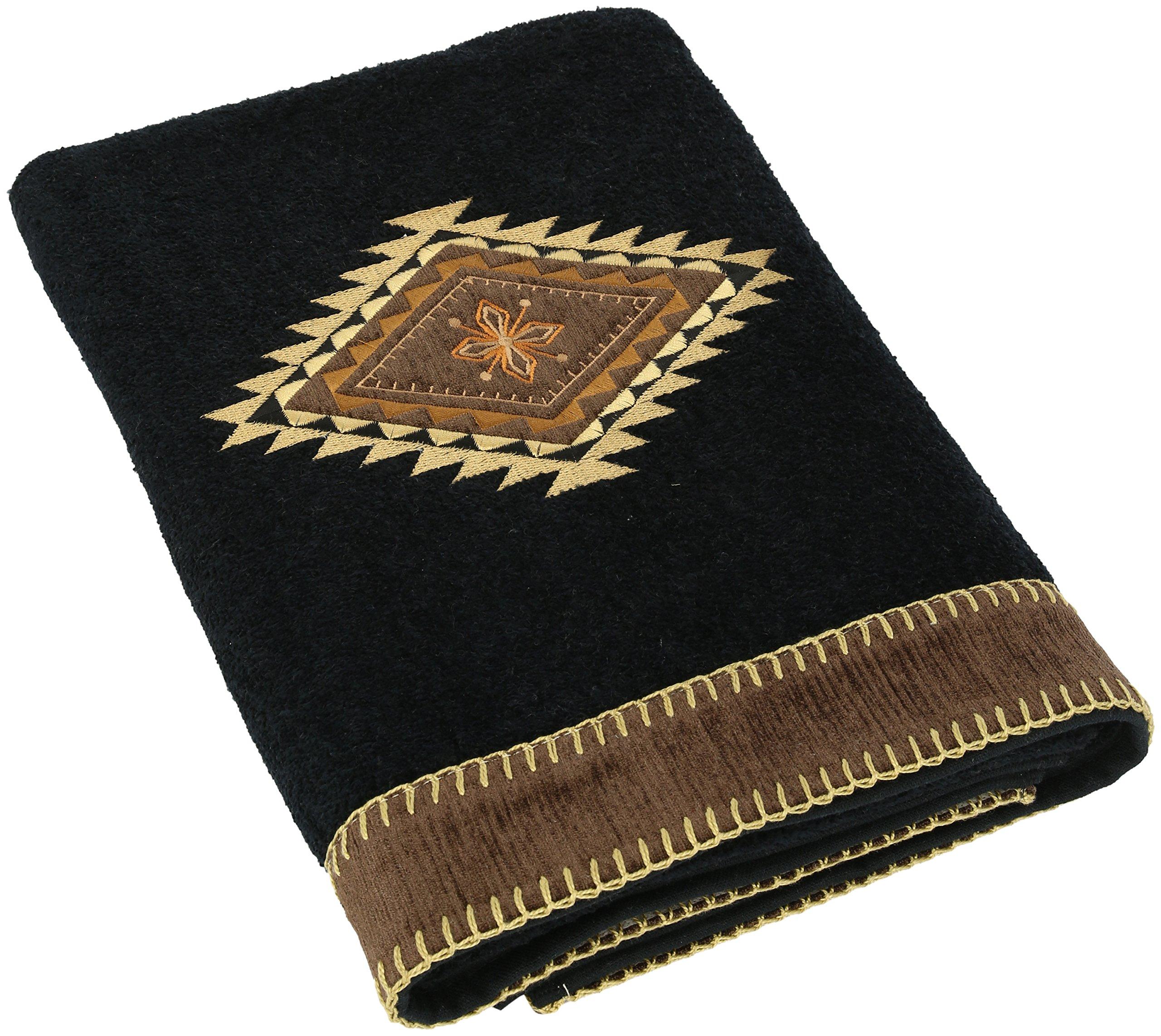 Avanti Linens Mojave Bath Towel, Black