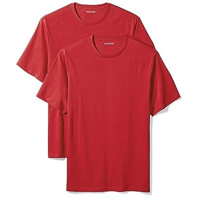 Essentials Mens Big /& Tall 2-Pack Short-Sleeve Crewneck T-Shirt fit by DXL