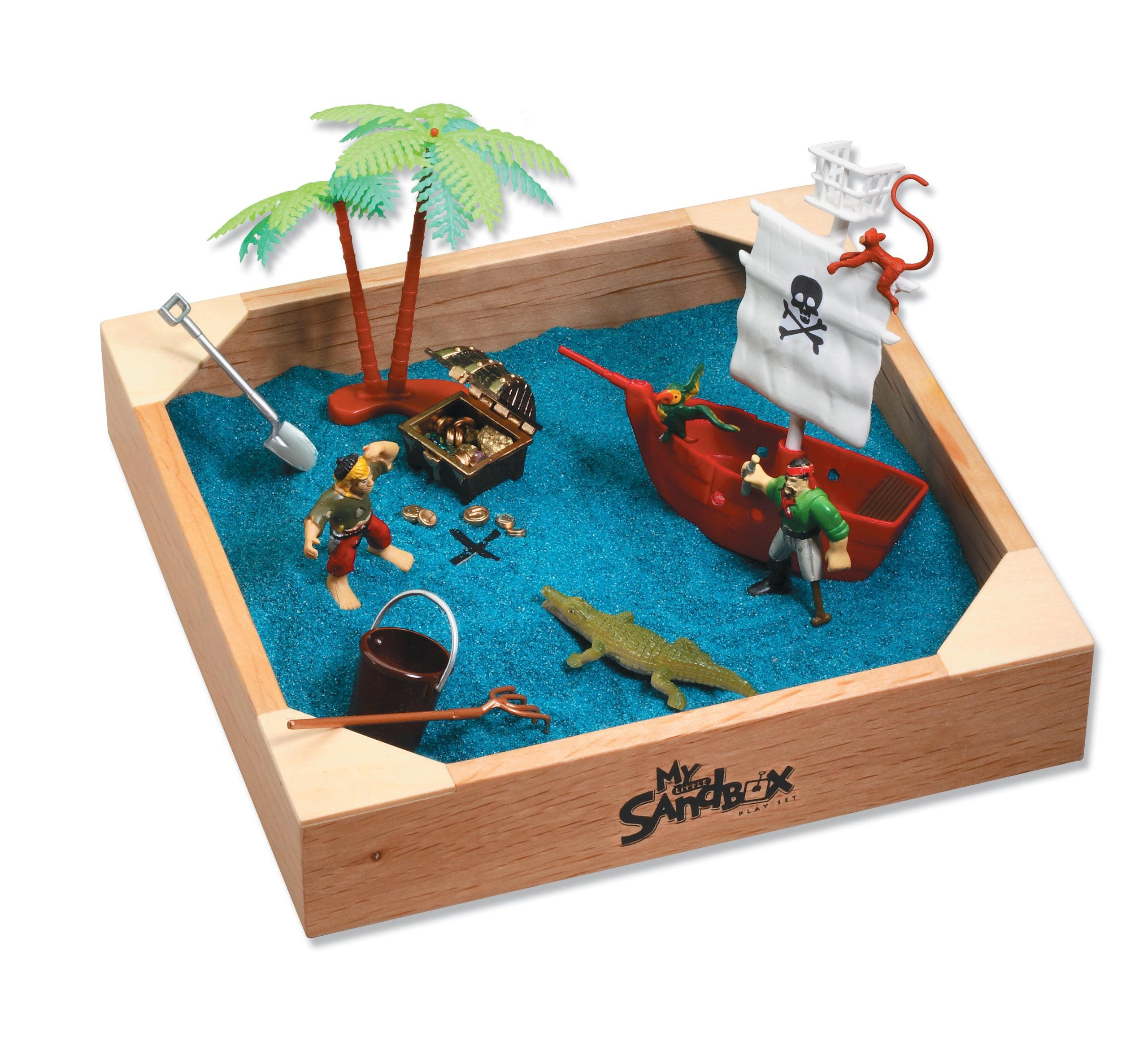 Be Good Company My Little Sandbox - Pirates Ahoy! Play Set
