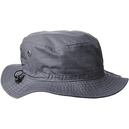 9e89557a7f1 Beechfield Summer Cargo Bucket Hat   Headwear (UPF50 Protection) (One Size)  (Graphite Grey)