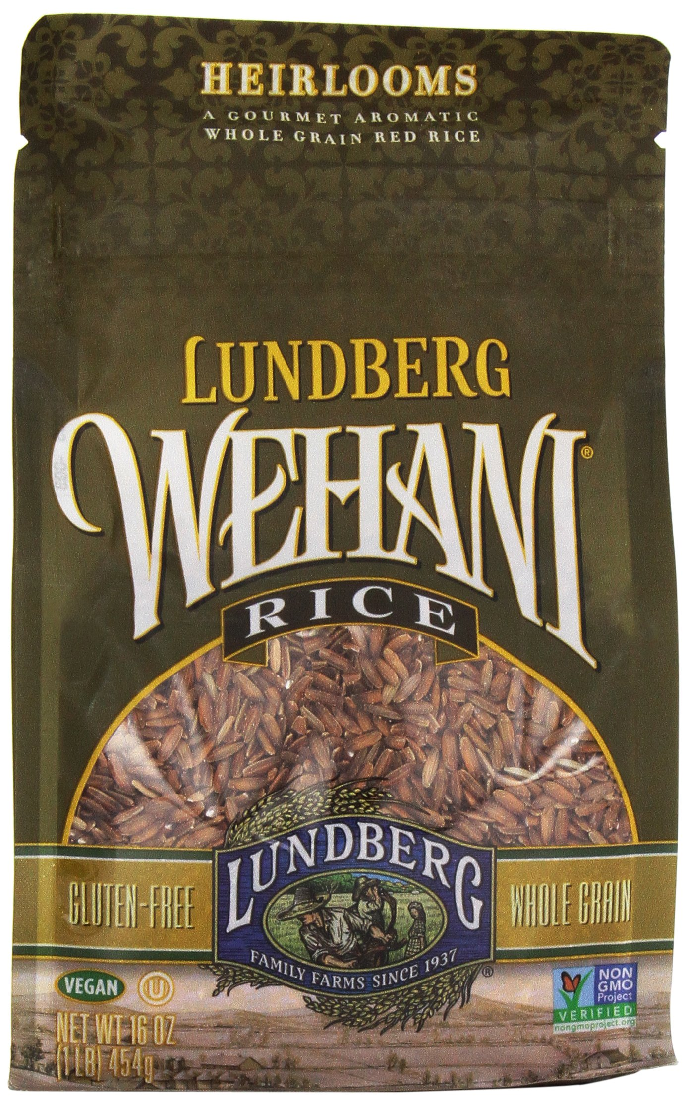 Lundberg Wehani, Aromatic Gourmet Natural Brown Rice, 16 oz