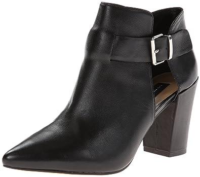 Amazon.com | STEVEN by Steve Madden Women\'s Pammie Boots, Black ...