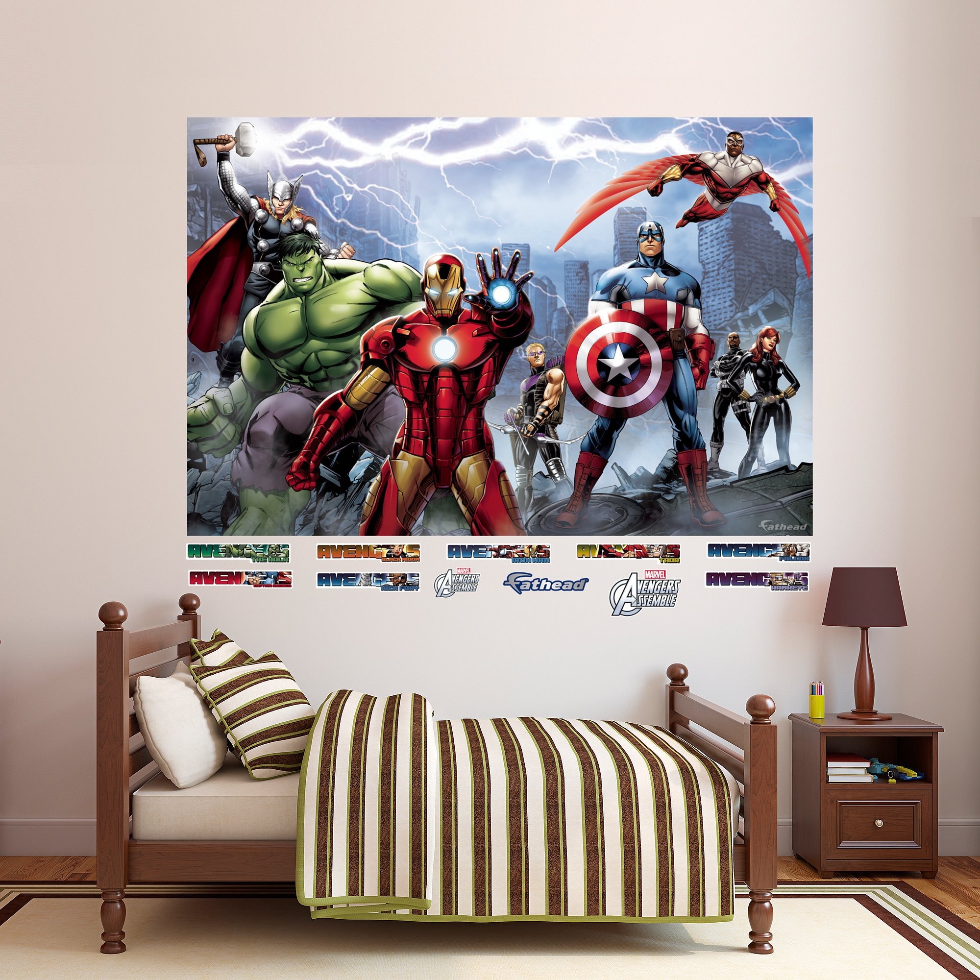FATHEAD Avengers Assemble Mural Real Big Wall Decal by FATHEAD (Image #1)