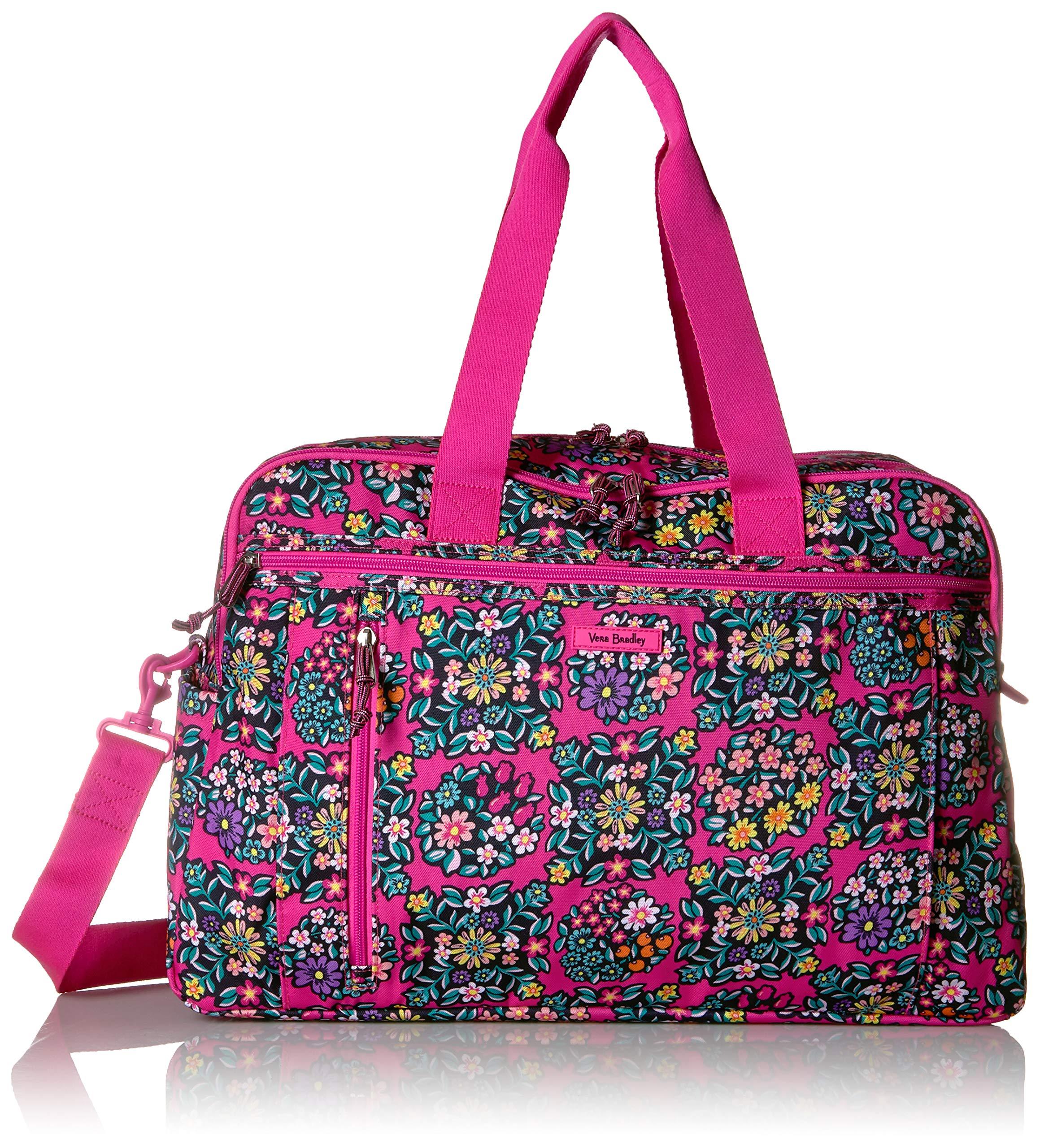 Vera Bradley Lighten Up Weekender Travel Bag, Kaleidoscope Rosettes