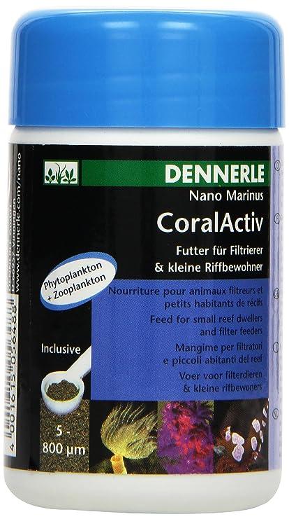 Dennerle Nano Marinus Coralactive Plankton - Comedero para alimento y filtro de peces