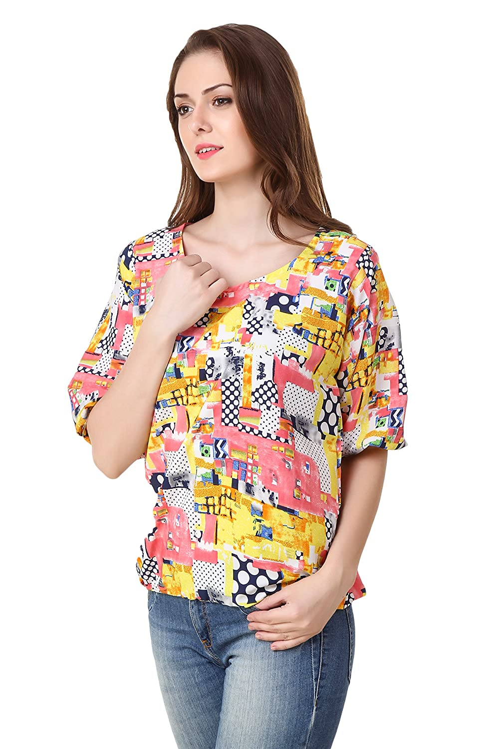 Girl's Crepe Top