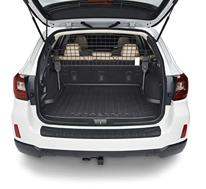Subaru outback dog guard compartment separator