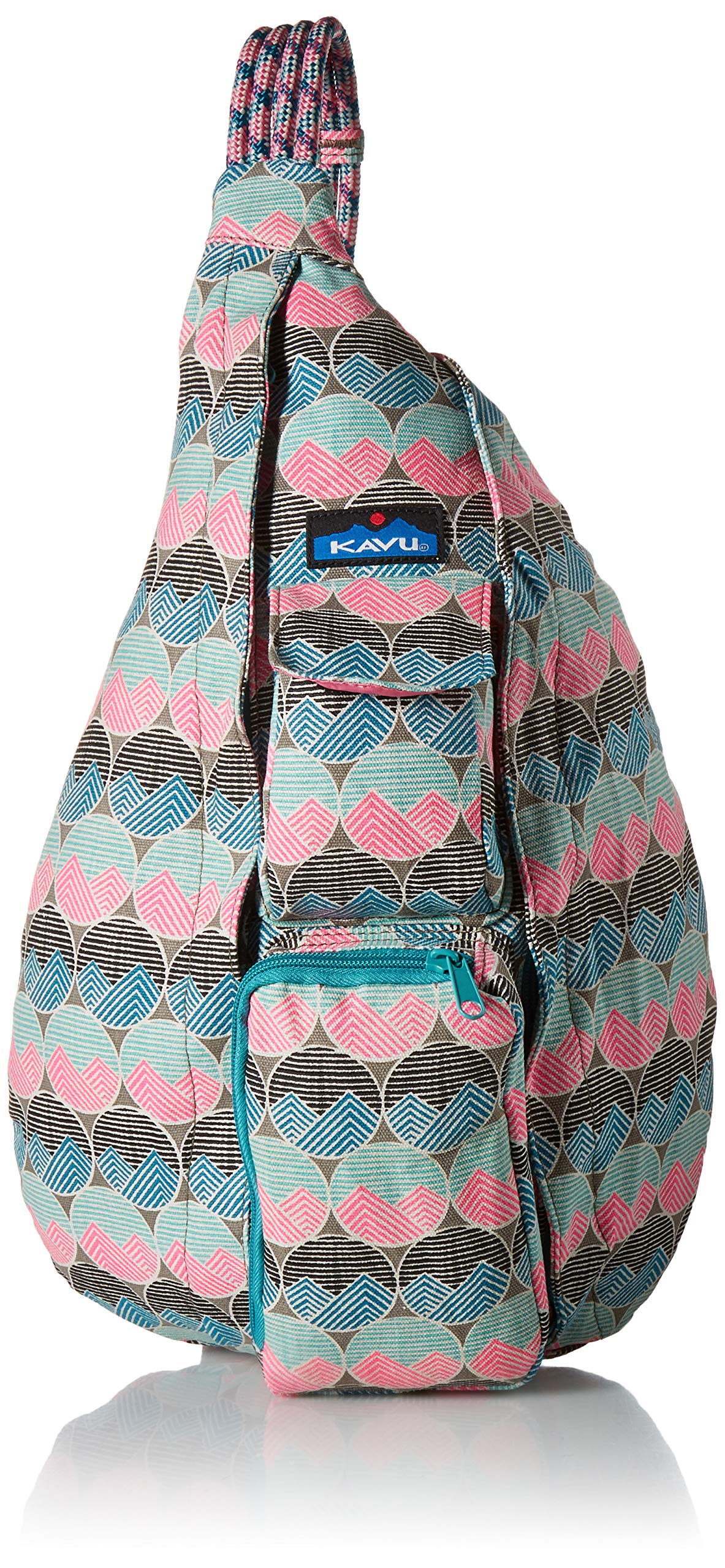 KAVU Women's Rope Bag, Horizon Dots, No Size
