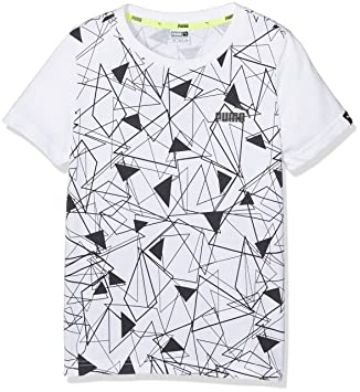b192ce8a800e5 Puma Sport Style T-Shirt Enfant  Amazon.fr  Sports et Loisirs