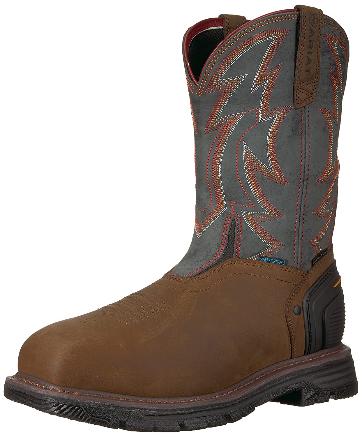 Ariat Work メンズ Catalyst Thunder H2O Composite Toe B076RCXDQW  Oily Distressed Brown/Storm 10 E US