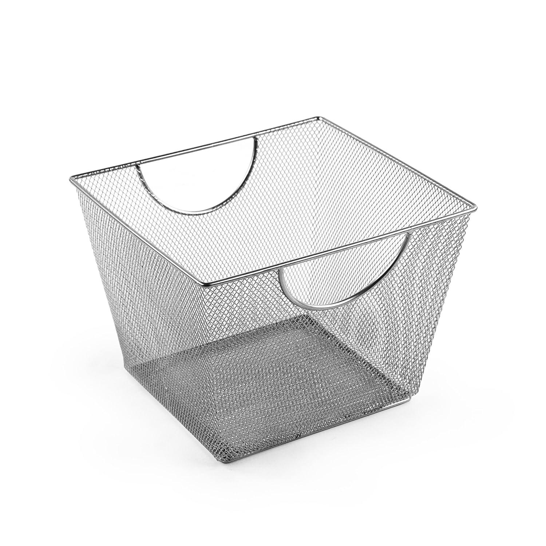 Amazoncom Design Ideas Mesh Storage Nest, Silver, Small Home &