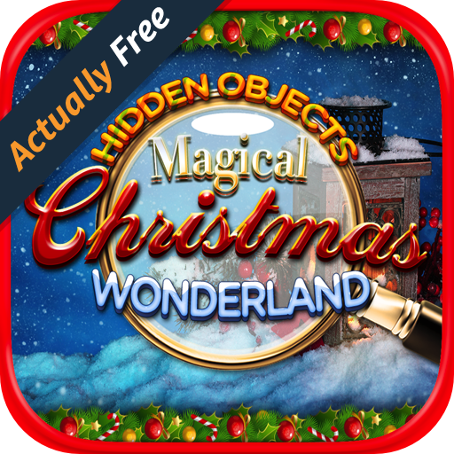 Hidden Objects Magical Christmas Wonderland: Photo Hunter Holiday Seek & Find Games (Halloween Games All Ages)