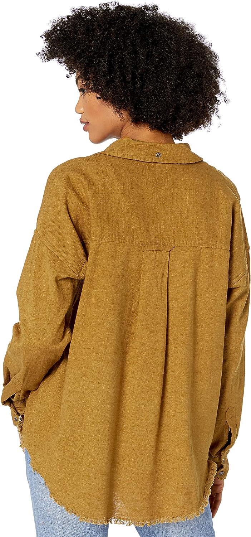 Billabong Womens Long Sleeve Woven Top
