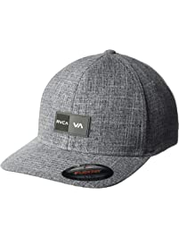 new styles d6aec 61fe4 RVCA Mens Balance Box Flexfit Hat Baseball Cap