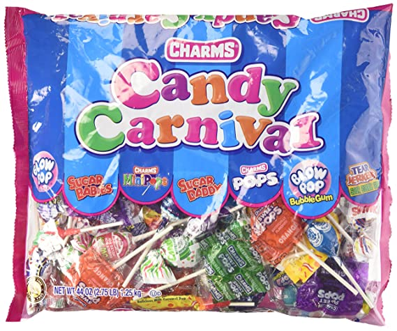 U.S. Toy Charms Candy Carnival 44oz Bag
