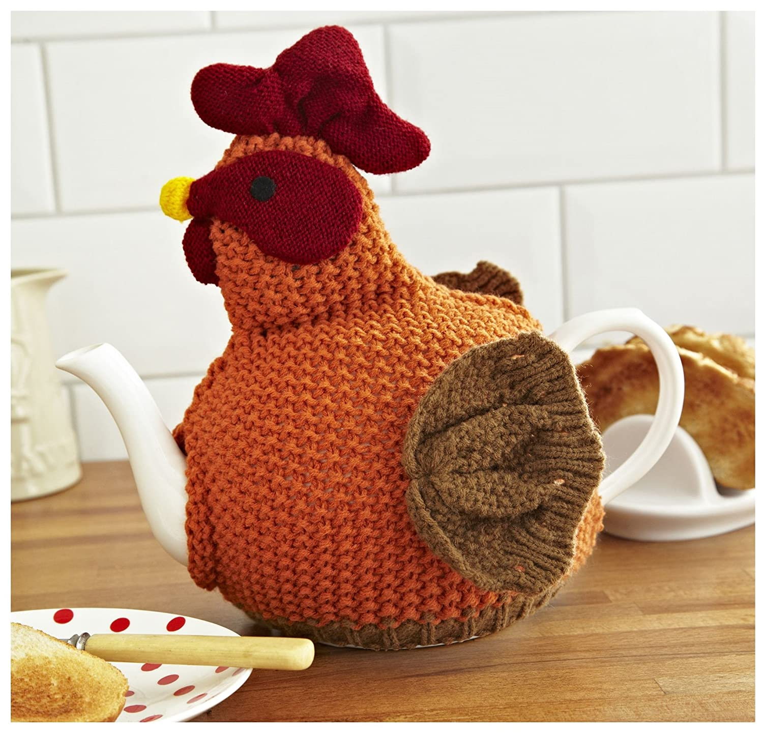 Ulster Weavers Chicken Knitted Tea Cosy: Amazon.co.uk: Kitchen & Home
