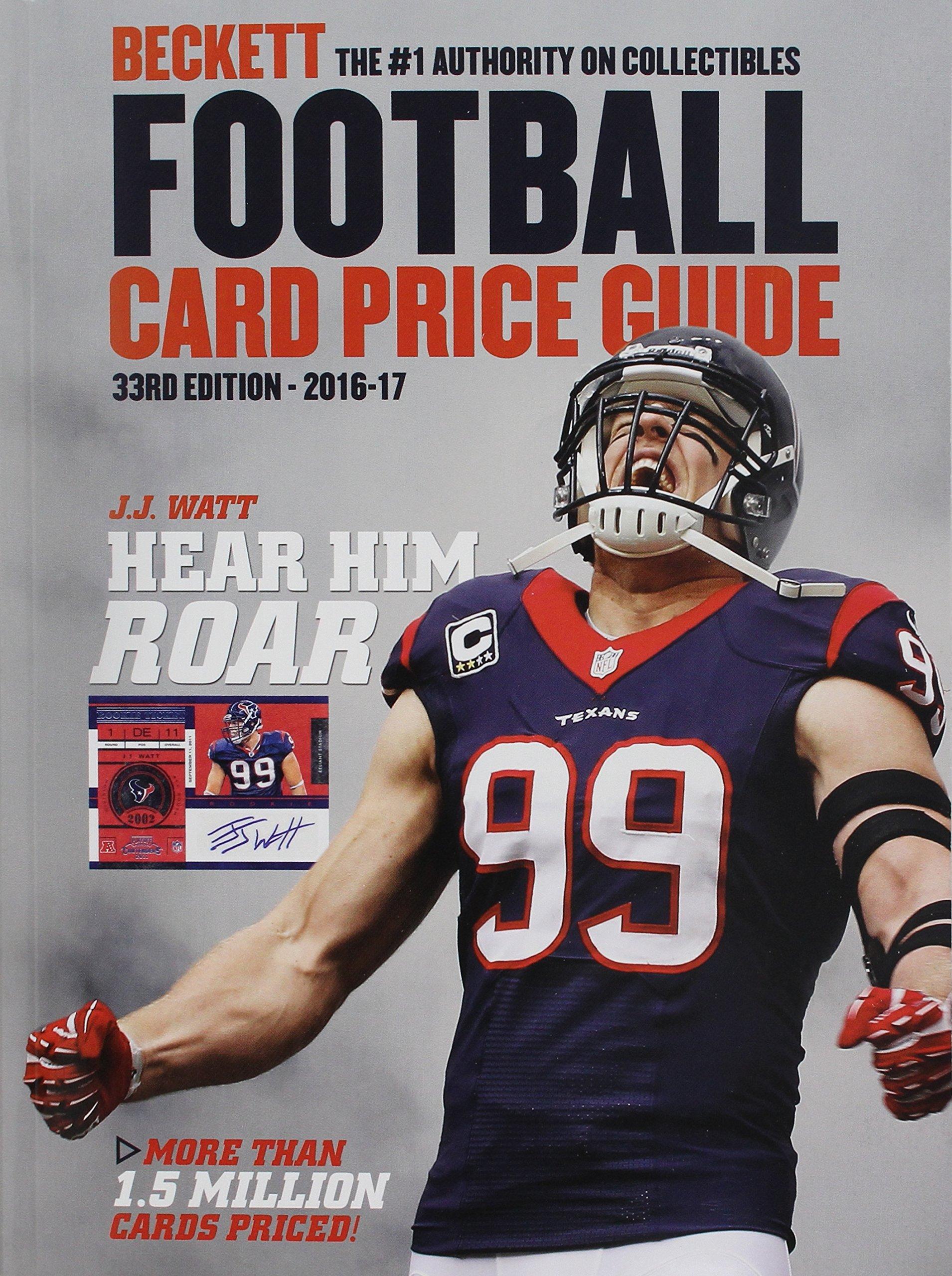 Beckett Football Card Price Guide #33