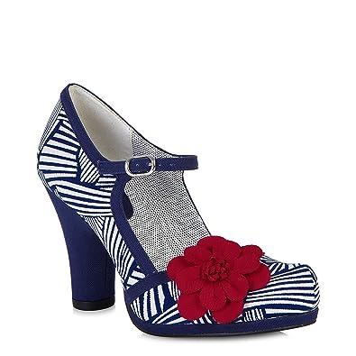 d8850c41 Ruby Shoo Tanya (Navy/White): Amazon.co.uk: Shoes & Bags