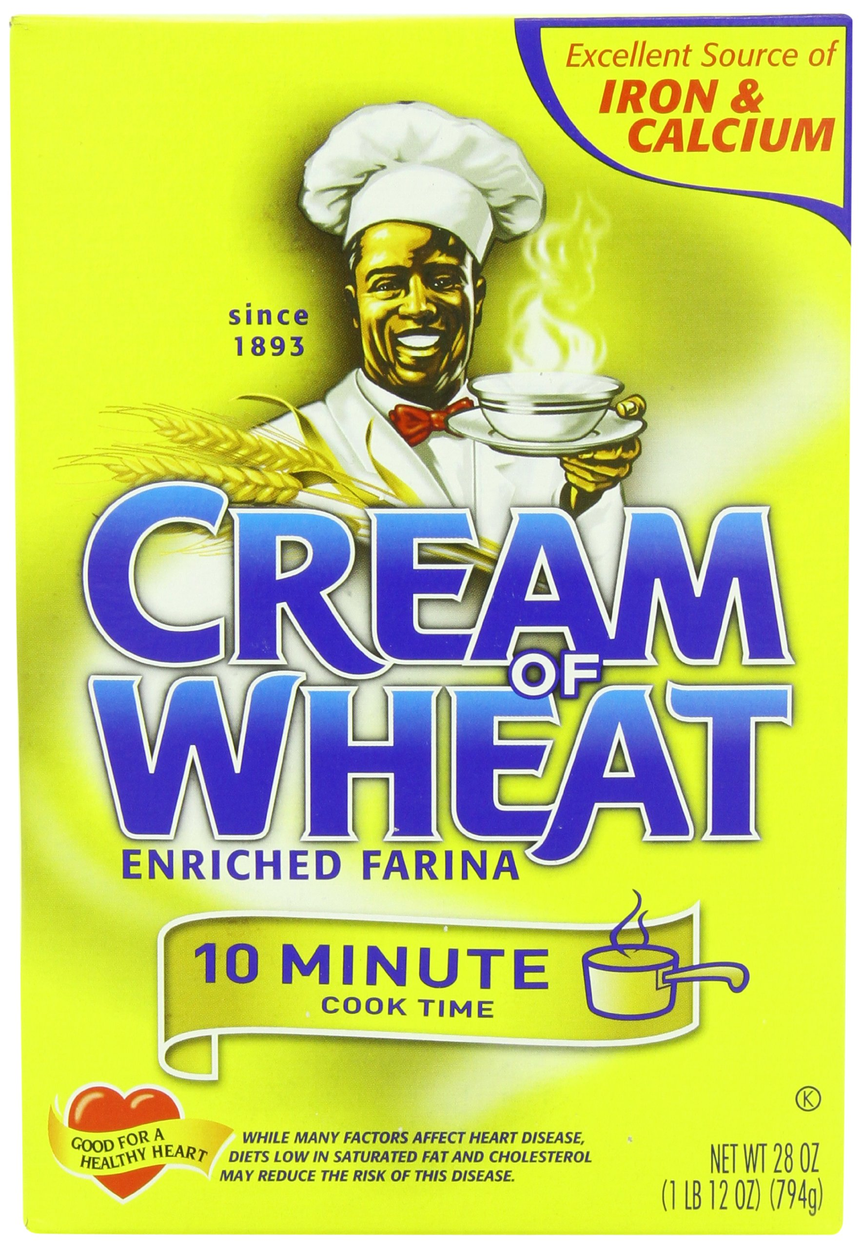 Cream of Wheat, Original Enriched Farina, 10 Minutes, 28 Ounce (Pack of 12)