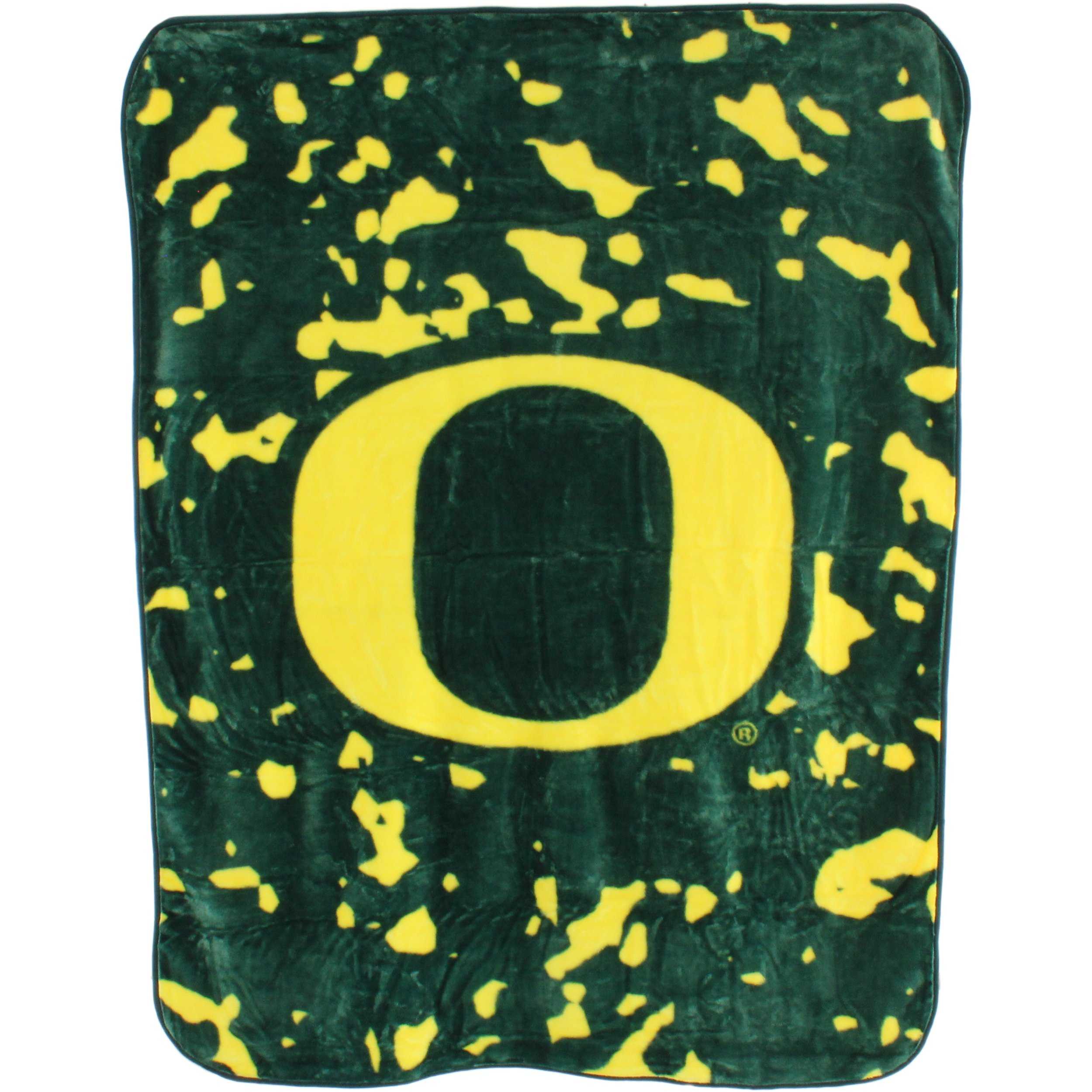 College Covers Oregon Ducks Throw Blanket/Bedspread
