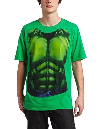 Marvel Comics del increíble Hulk Verde Disfraz Infantil de T ...